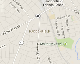 Haddonfield is close to many great party destinations.