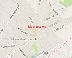 Moorestown is close to many great party destinations.